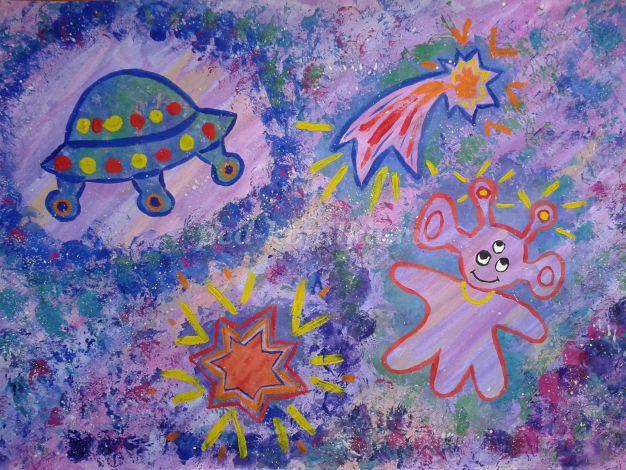 Детские рисунки. Как научить ребенка рисовать