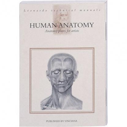 Human Anatomy. Anatomy plates for artists. Leonardo technical manuals / Анатомические таблицы для художников Анатомия человека (на английском языке)