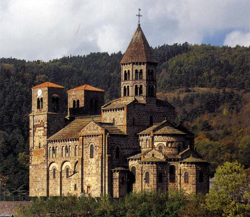 Картинки романский стиль архитектура